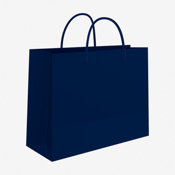 Vrećica 50x37x12 sjajna – plava