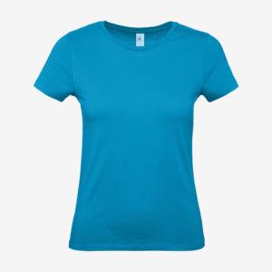 Majica E150 women - atol plava