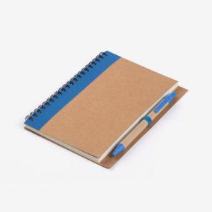 Biorazgradivi notes Verde s olovkom - plavi