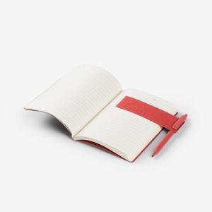 Biorazgradivi notes Grain u poklon kutiji - crveni otvoreni