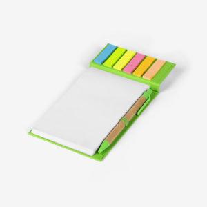 Biorazgradivi notes Sky s olovkom - svijetlo zeleni