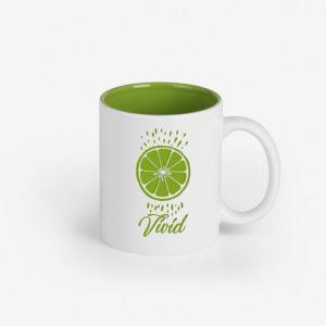 Šalica Vivid - svijetlo zelena
