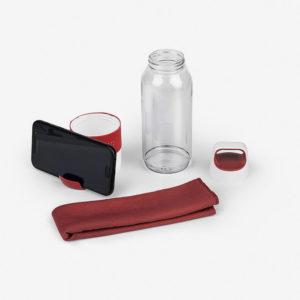 Sportska boca za vodu Fitness - crvena