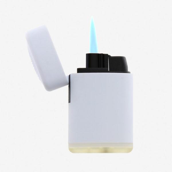 Upaljač Jet Flame - bijeli otvoreni