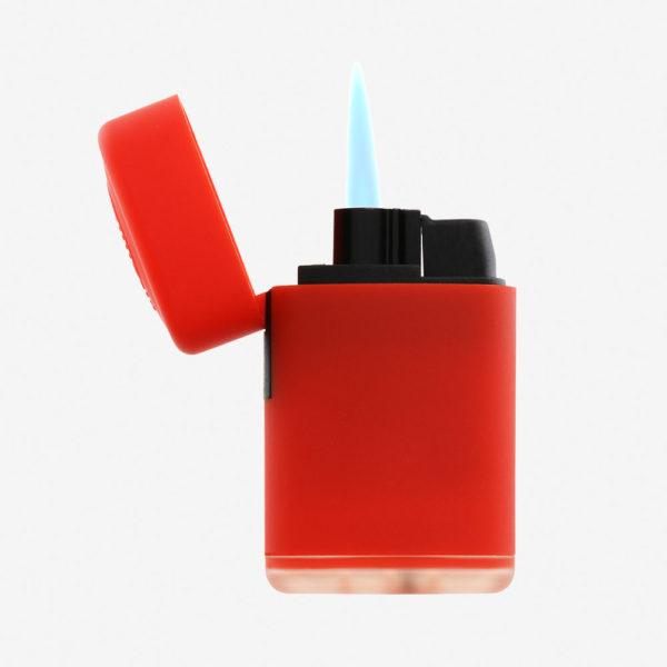Upaljač Jet Flame - crveni otvoreni