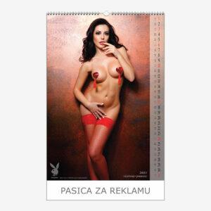 Kalendar Playboy 2021 - siječanj